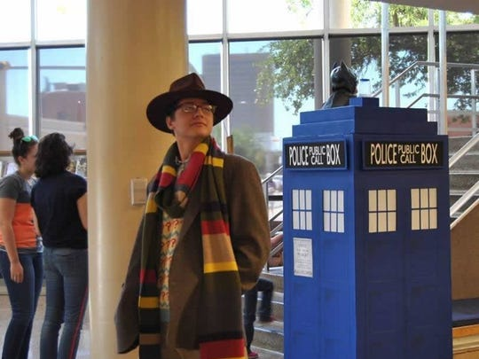 Photo courtesy of Abilene Public Library Dr. Who and the Tardis were part of the cosplay fun during the 2015 Lib-Con.