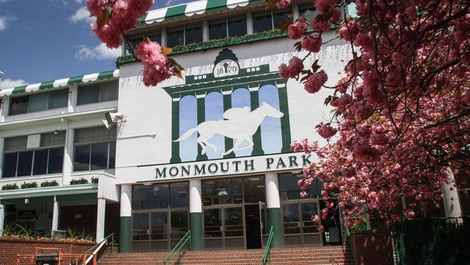 Record crowds and heavy traffic are expected at Monmouth Park Sunday with American Pharoah racing in the Haskell.