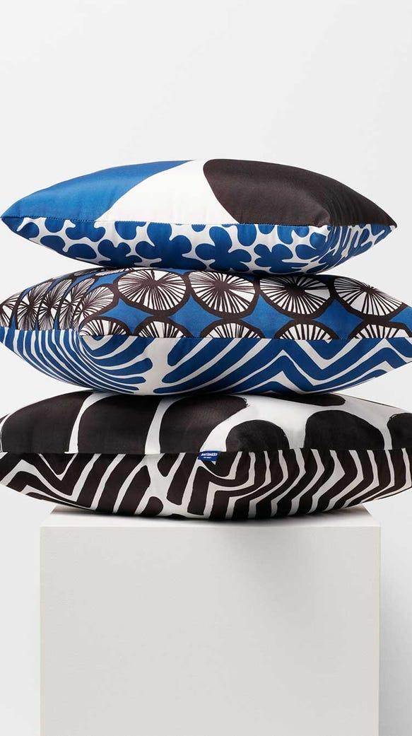 Indoor/Outdoor Lumbar Pillows, $24.99