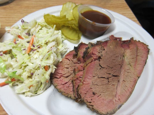 Cranky Frank's: Great barbecue in a charming Texas town