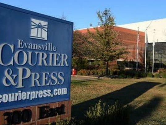 courier & press building