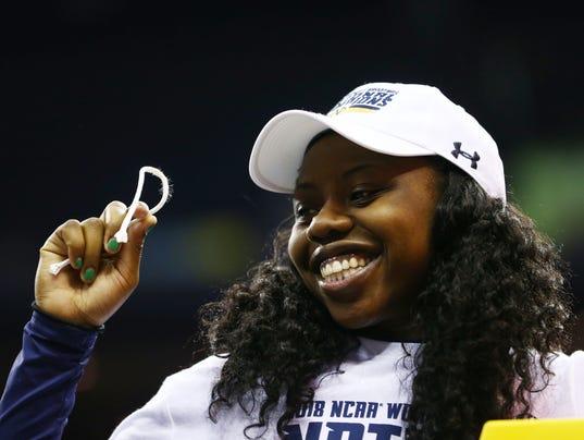 USP NCAA WOMENS BASKETBALL: FINAL FOUR CHAMPIONSHI S BKW USA OH