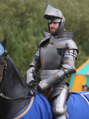 """GALAVANT - """"Galavant"""" will premiere on SUNDAY, JANUARY 4 (8:00-9:00 p.m., ET) with two 30 minute episodes, back-to-back on the ABC Television Network. """"Joust Friends"""" (8:30-9:00 p.m. ET) - Galavant enters a jousting tournament against a boastful rival, Sir Jean Hamm (guest star John Stamos), to test his return to heroic form (and win some much-needed traveling money and a really nice rooster). But it quickly becomes clear that Galavant is a long shot to win. Meanwhile, King Richard asks Gareth to help him become a bit more macho so that Madalena won't despise him quite so much. (ABC/Nick Ray) JOSHUA SASSE"""