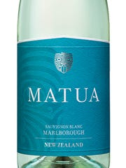 The Matua Marlborough sauvignon blanc is made with grapes from more than 100 New Zealand vineyards.