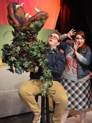 """THROUGH MAY 21 -- """"Little Shop of Horrors"""" will be"""
