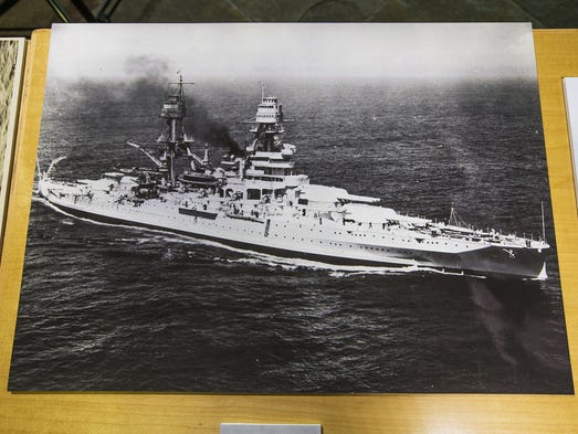 """Items from """"The Life and Legacy of the USS Arizona"""""""