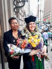 Dr. Danielle Elaine Meno Senn graduated from the Philadelphia