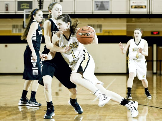 Delone Catholic's Maddie Comly (1) and West York's Kari Lankford (21) have their teams in solid position to contend for YAIAA and District 3 titles. (FILE -- GAMETIMEPA.COM