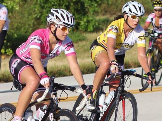 Naples cyclist, Tish Kelly, right, was an advocate