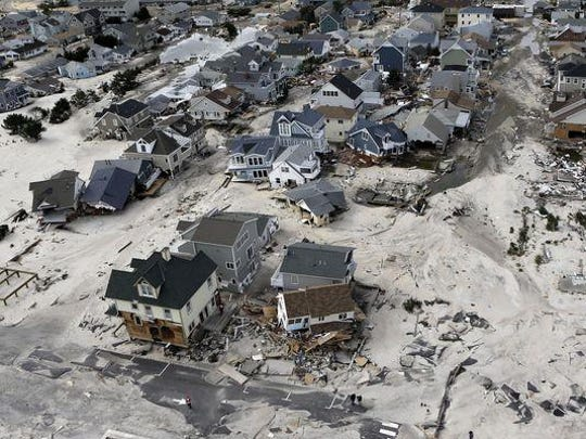 Superstorm Sandy destroyed homes and buildings nearly five years ago in Ortley Beach.