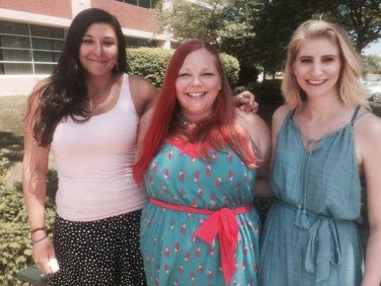 Kala Kachmar (left) and designers Jennifer Meyer (center) and Michele Aed are ready for summer.