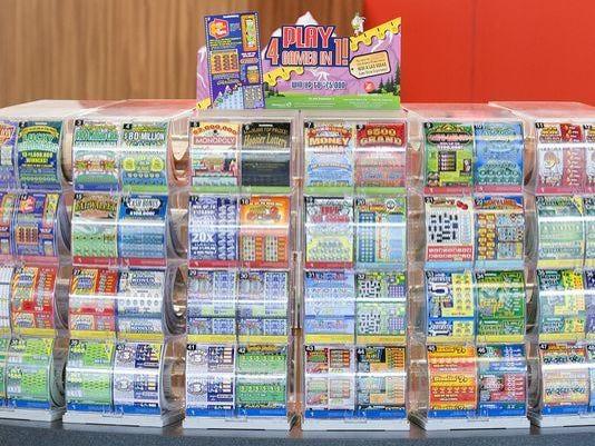 Hoosier Lottery display McSchooler