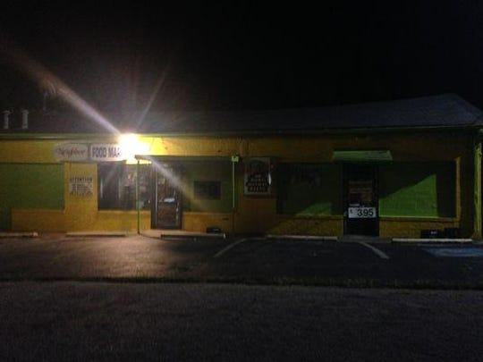 Food Mart on Hale Street was robbed around 7 p.m. Monday.