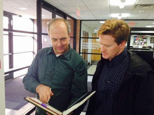 Robert Romanowski and Mike Parietti Ward Vote Appeal Oct. 8 2014