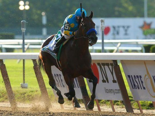 Triple Crown winner American Pharoah tops the list of 33 horses invited to the $1-million William Hill Haskell Invitational on Aug. 2 at Monmouth Park.