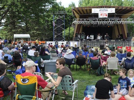 Organizers are expecting 50,000 to 60,000 people to attend Riverfront Rendezvous next week at Pfiffner Pioneer Park in downtown Stevens Point.