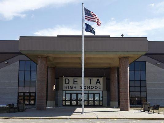 Delta High School doors