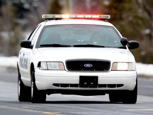 Police car stock Charlie Nye