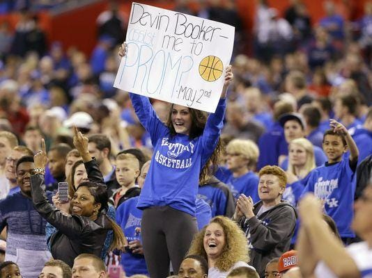 Kentucky fans can seek out their soulmates at a new website starting Thursday.