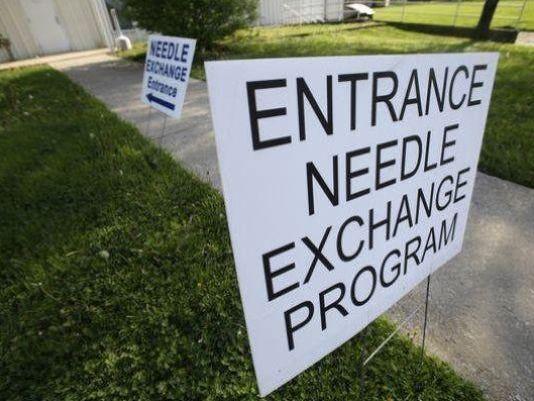 Needle exchange site