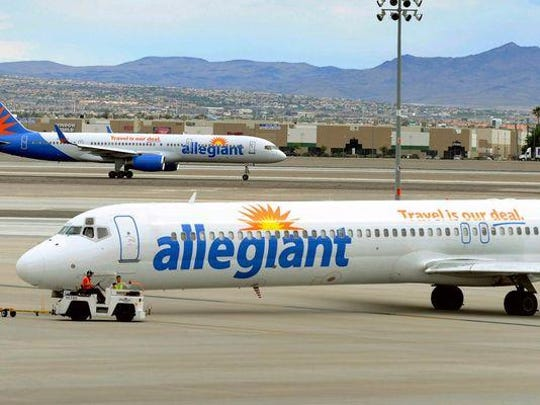 Allegiant Air Lines jets