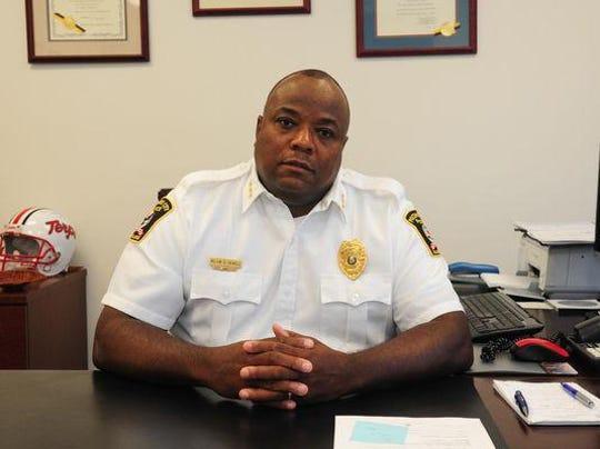 Former Pocomoke City Police Chief Kelvin Sewell