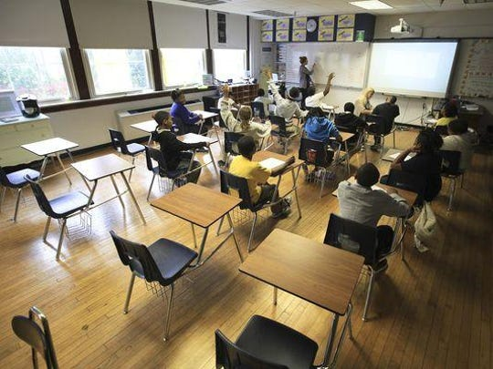 JCPS classroom.