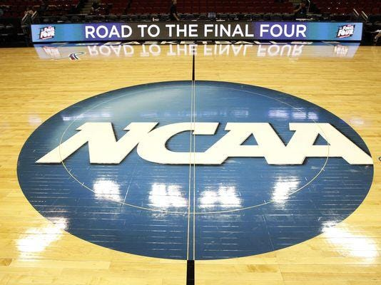 NCAA logo 635729954396307139-USP-NCAA-BASKETBALL-NCAA-TOURNAMENT-IOWA-PRACTI