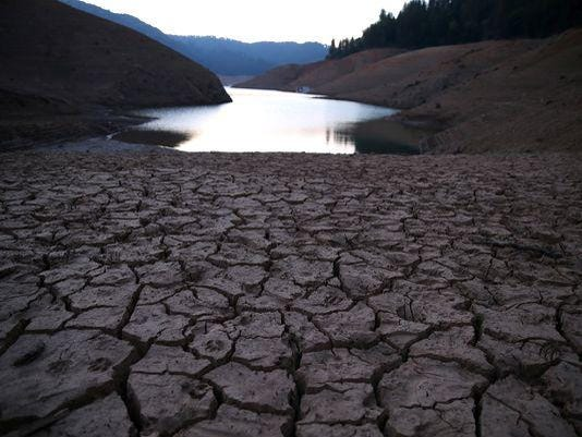 California drought pic