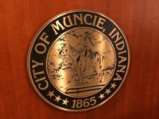 Muncie city seal