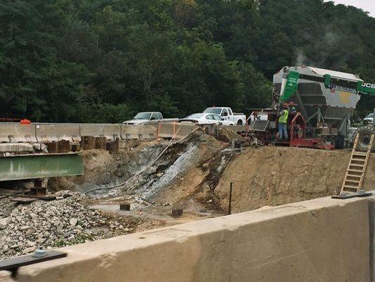 Wildcat bridge repairs begin