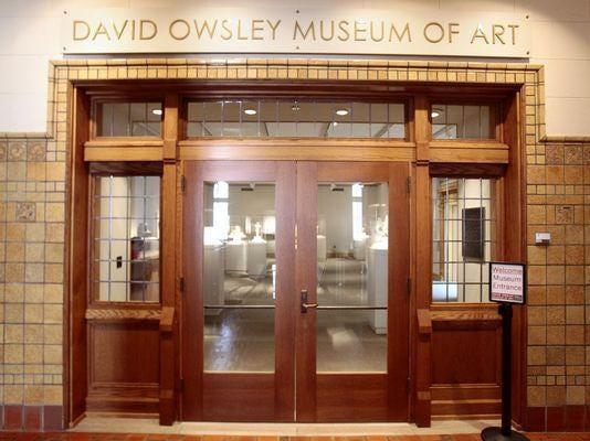 David Owsley Museum doors