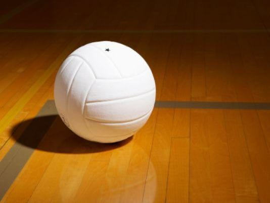 volleyball stock
