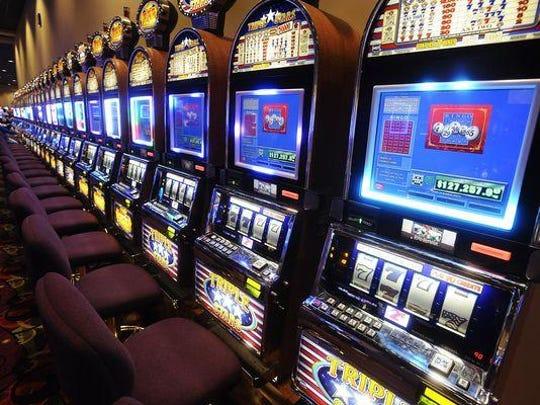 Electronic bingo machines.