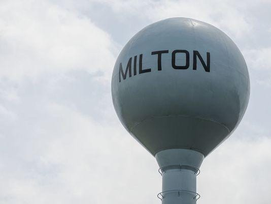 milton water tower