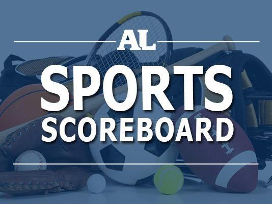 Sports scoreboard tile