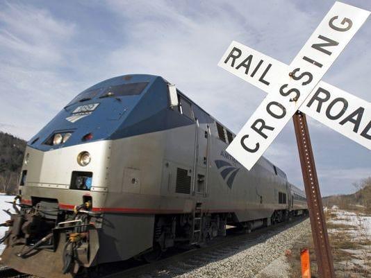 The Amtrak Vermonter.