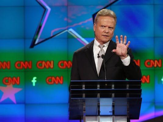 Jim Webb during last week's debate.