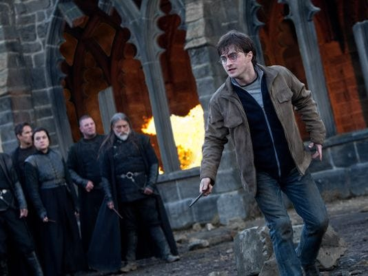 Daniel Radcliffe in 'Harry Potter and the Deathly Hallows - Part 2.'