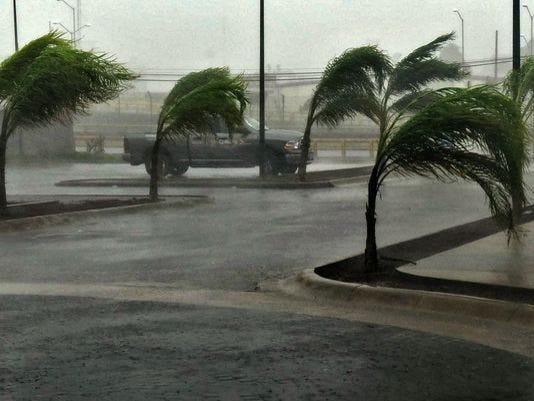 Hurricane Patricia made landfall near Manzanillo, Colima state, Mexico on Friday.