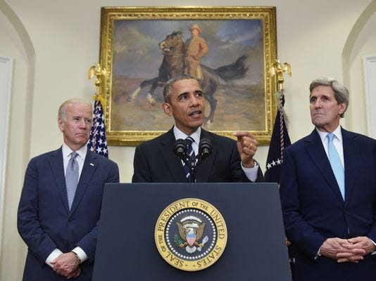 President Obama speaks about the Keystone XL Pipeline on Friday.