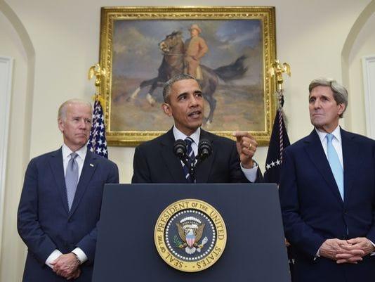President Obama speaks about the Keystone XL Pipeline on Friday.