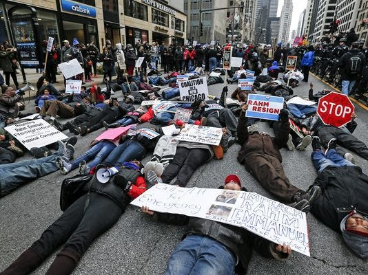 Chicago protesters