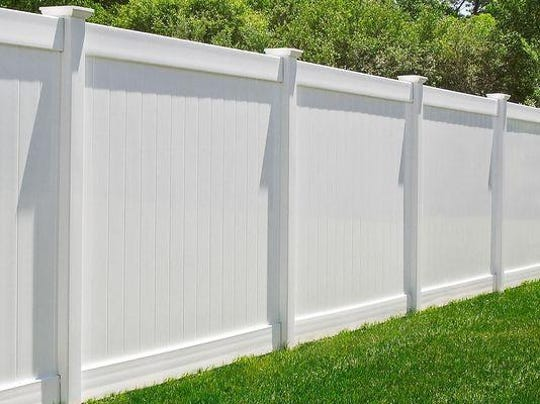 Plymouth Township residents are seeking variances for six-foot-tall fences like the one pictured.