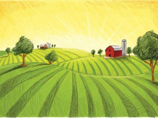 FON bucolic farm scene