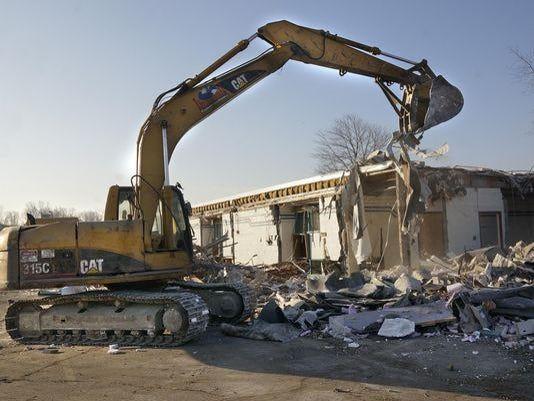 Washington demolished