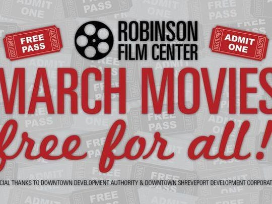 March Movies Free For All