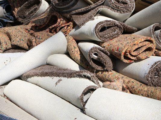 wet carpet