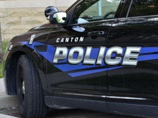 Canton police car