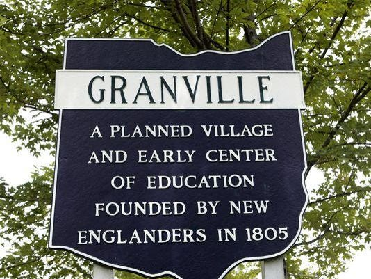 Granville Historic Marker